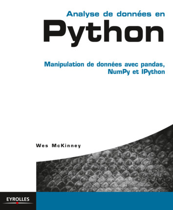 Python for Data Analysis Book - Wes McKinney